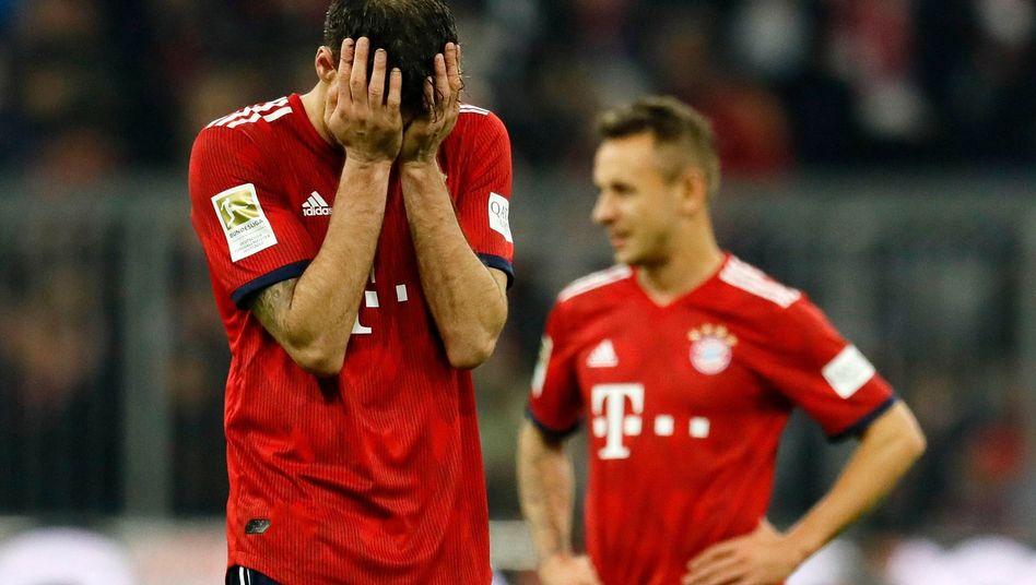 Bayern Münchens Javi Martínez