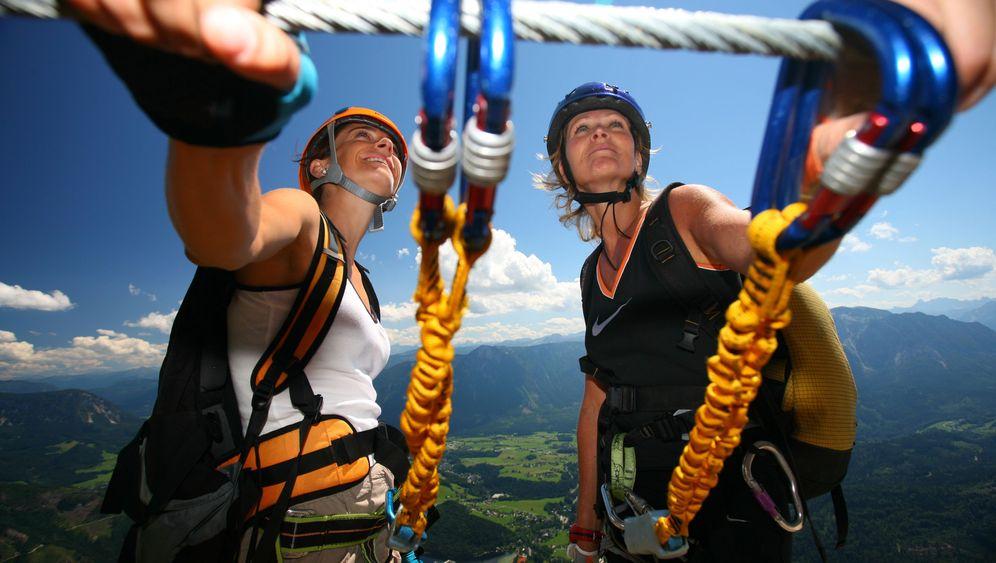 Klettersteigschein in Ramsau: Schulung gegen Selbstüberschätzung