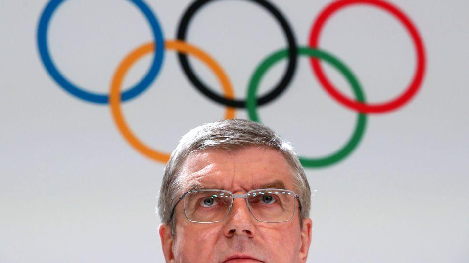 Thomas Bach: 1976 Olympiasieger im Fechten, seit 2013 IOC-Präsident