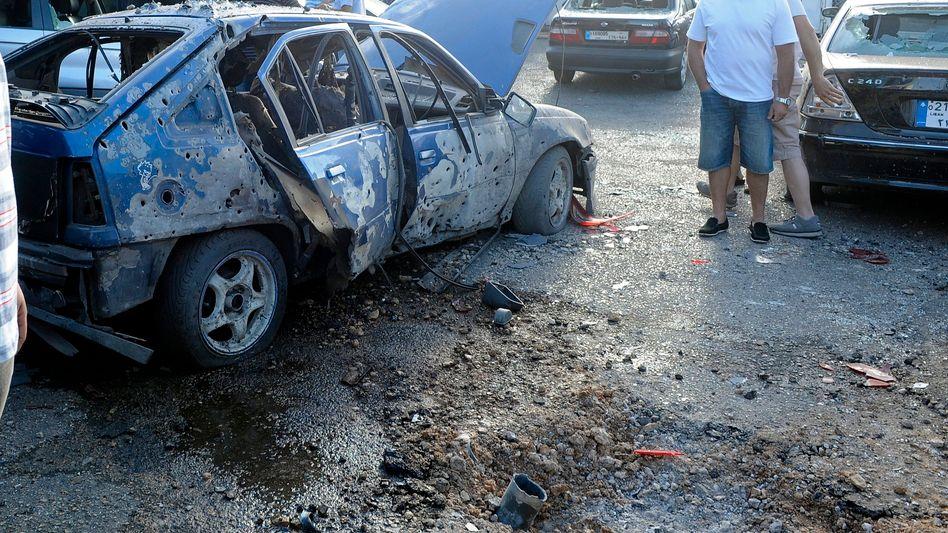 Angriff auf Beirut: Libanon wird Schlachtfeld im syrischen Krieg