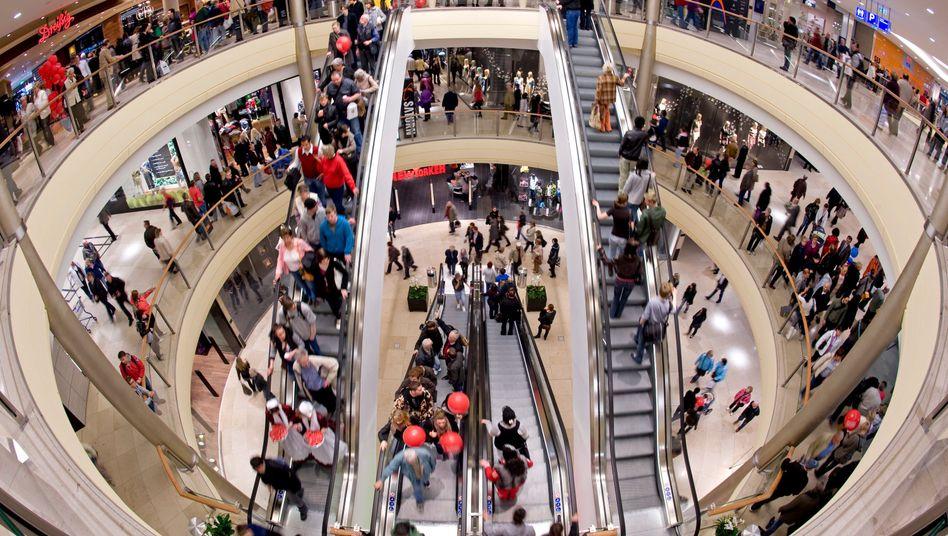 Altmarkt-Galerie in Dresden (Archiv): Stärkste Anschaffungsneigung seit acht Jahren