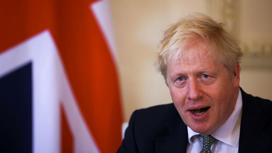Boris Johnson macht die Brexit-Gespräche eigenen Angaben zufolge nicht von der Wahl in den USA abhängig