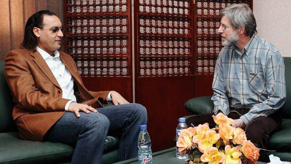 Gaddafi-Sohn Hannibal, Häftling Göldi im März