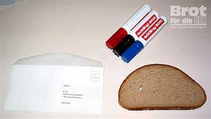 """Aktion: """"Brot für die GEZ"""""""