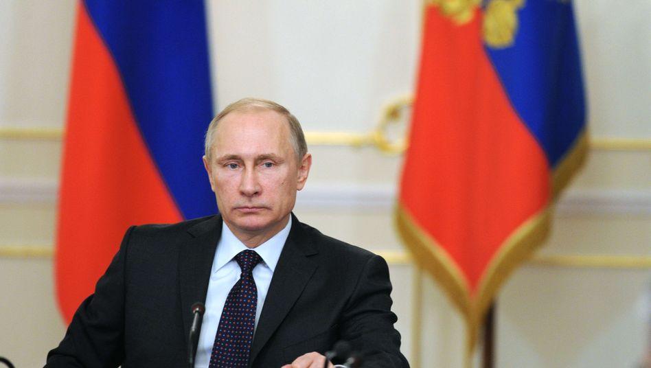 Russlands Präsident Putin: Will an Gipfel-Treffen teilnehmen