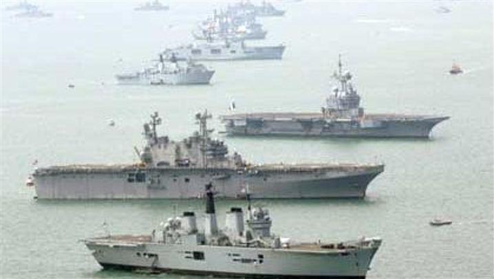 Trafalgar: Flottenparade zu Nelsons Ehren