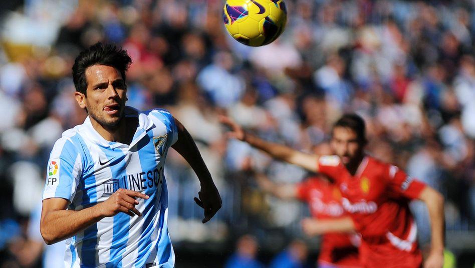 Stürmer Santa Cruz: FC Málaga statt Hamburger SV