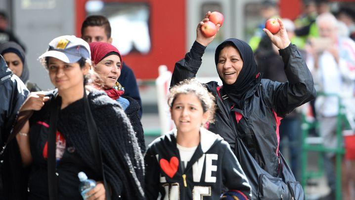 Flüchtlinge: Ankunft in Deutschland