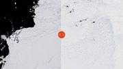 """Zerfall am """"Weltuntergangs-Gletscher"""""""