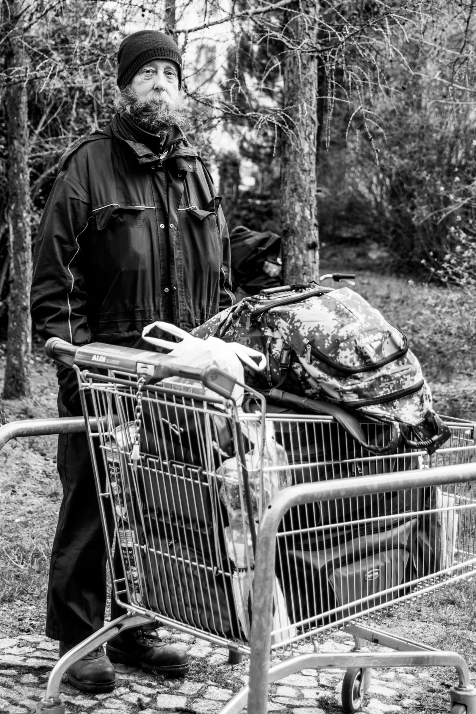 Obdachlosigkeit - Portraits © Debora Ruppert -36