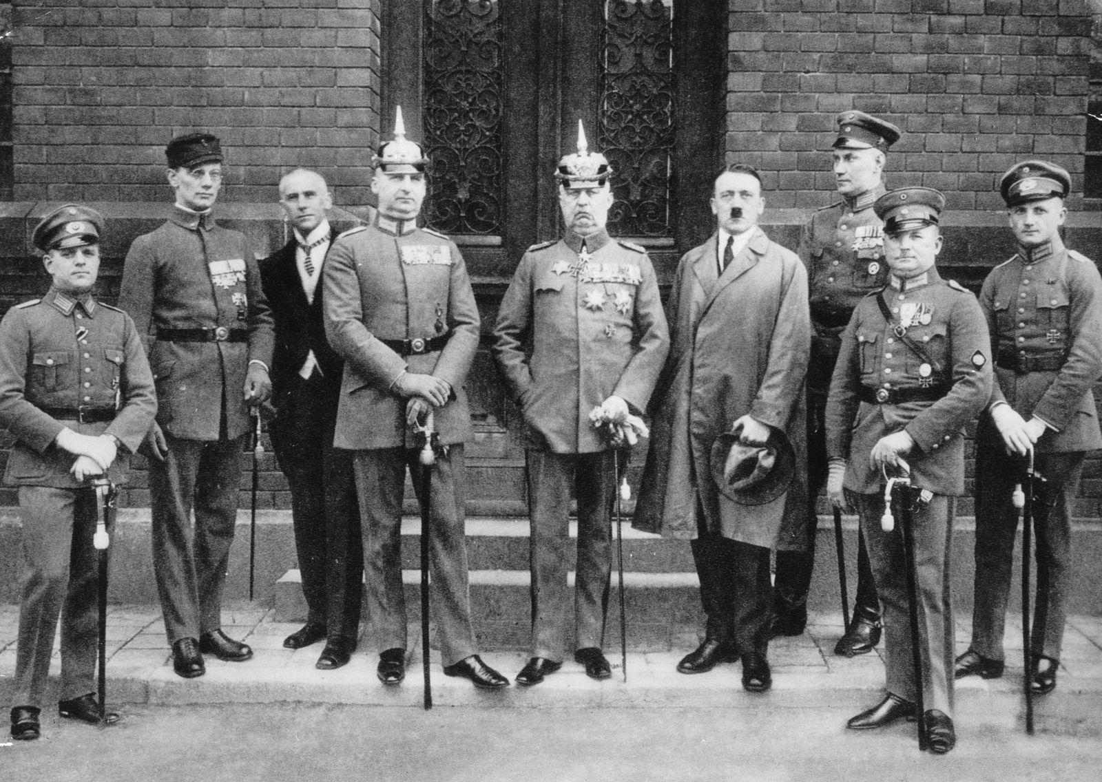 Hitler-Ludendorff-Prozess 1924 - Hauptangeklagte