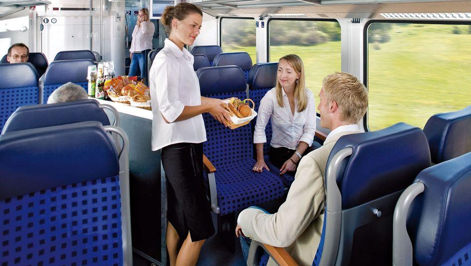 Catering bei der Bahn: Ein Fall für Foodwatch