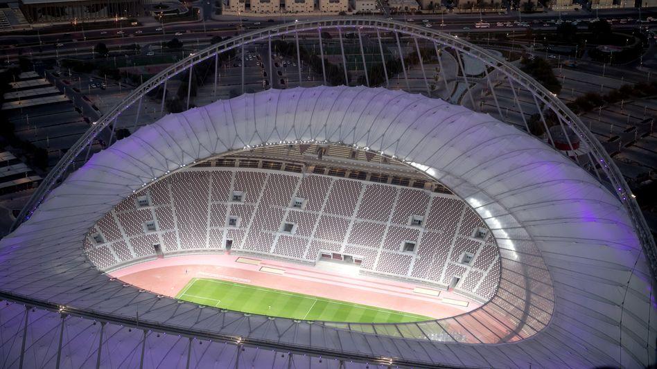 Das Khalifa International Stadium in Doha (Katar)