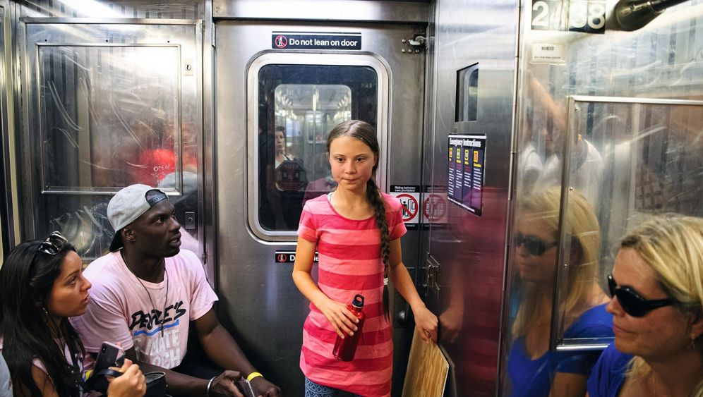 Photo Gallery: Greta Thunberg's Attempt to Win Over New York