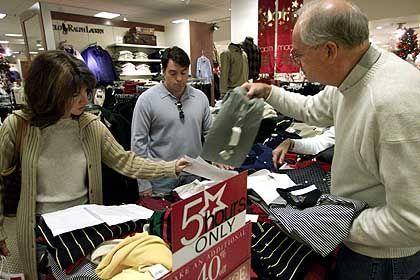 Einkaufscenter in Pasadena: Zuversichtlich wie seit 18 Monaten nicht mehr