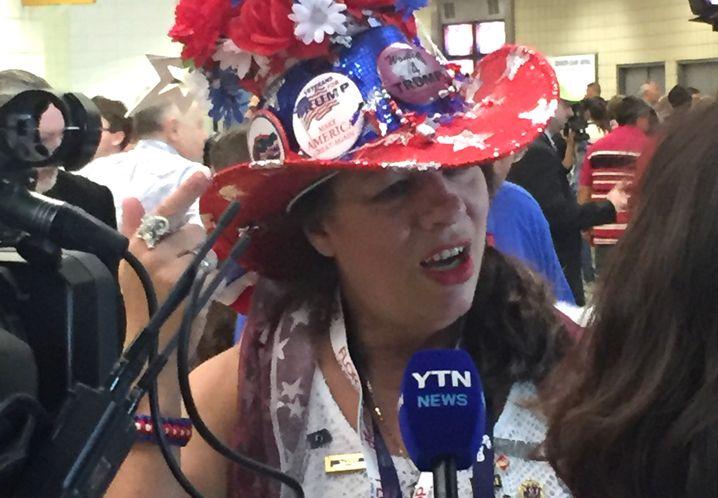 Kathryn Gates-Skipper: Kann doch nicht sein, dass jemand ernsthaft Hillary Clinton wählen wird, oder?