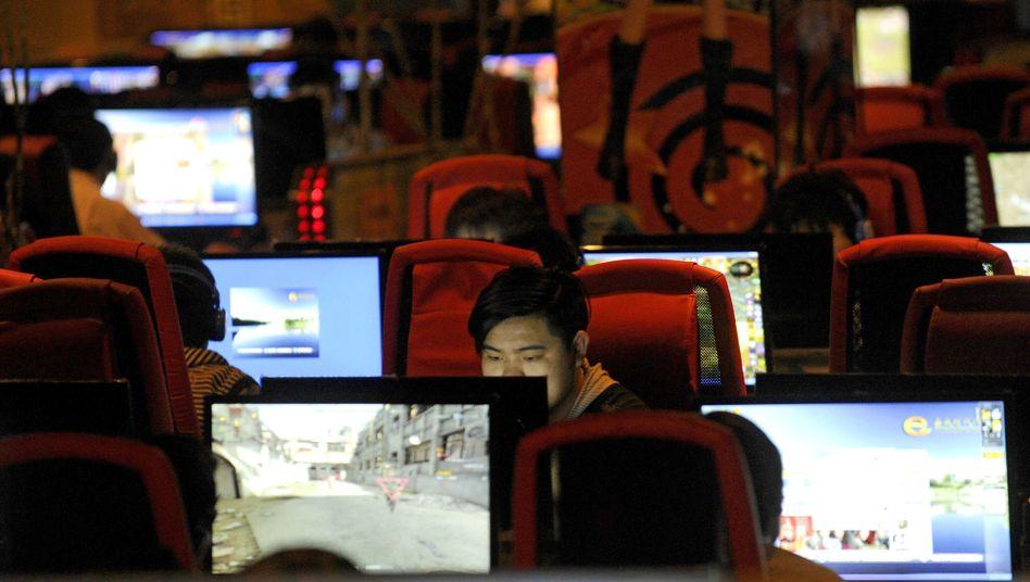 Internetcafé in China: Zwang zu Installation teurer Überwachungssoftware
