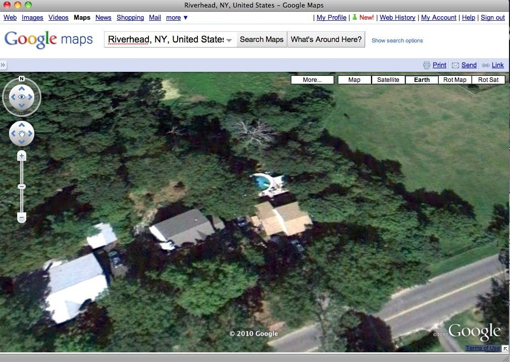 SCREENSHOT Google Earth / Pool