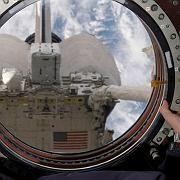 Blick aus der ISS (August 2007): Undichte Stellen bislang nur schwer auffindbar