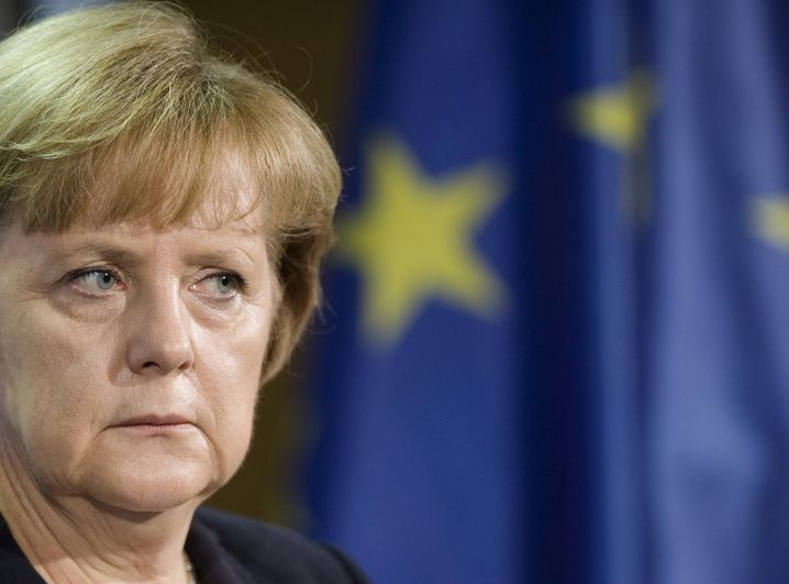 Der Star unter den Stimmungsvermiesern: unsere Kanzlerin bei EU-Gipfel.