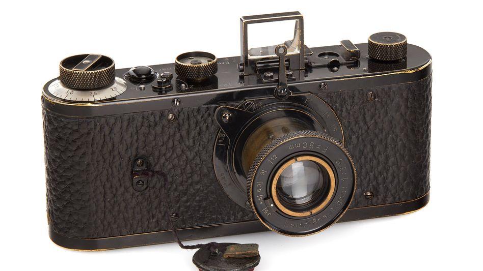 Leica-Fotoapparat aus dem Jahr 1923