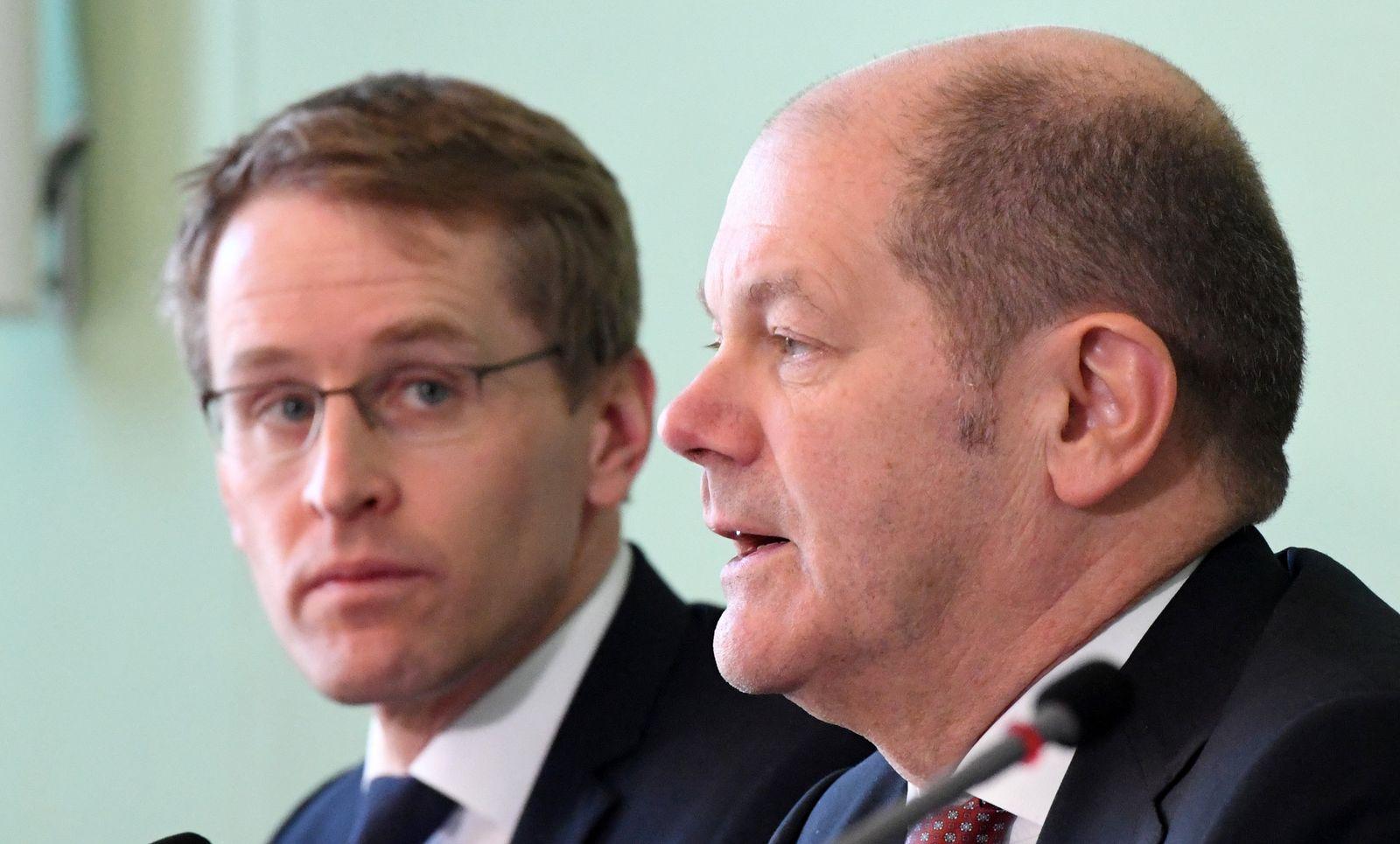 Gemeinsame Kabinettssitzung zu HSH Nordbank