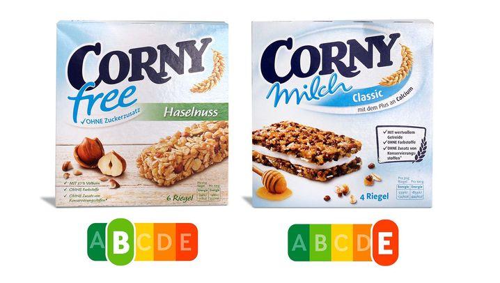 Nutri-Score-Vergleichstest: So unterschiedlich werden die Lebensmittel bewertet