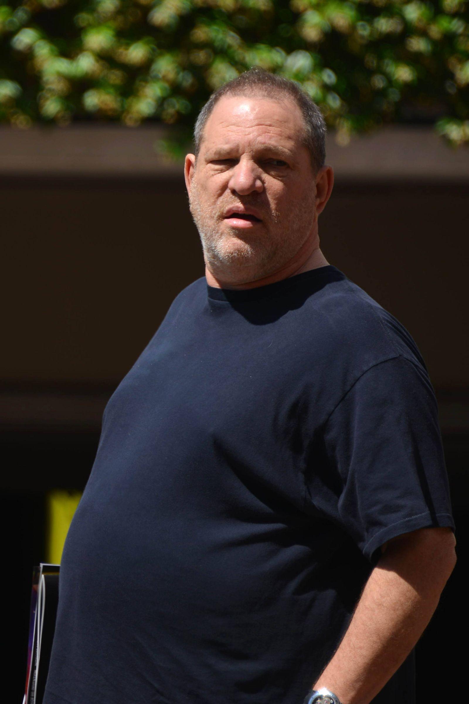 EINMALIGE VERWENDUNG Harvey Weinstein