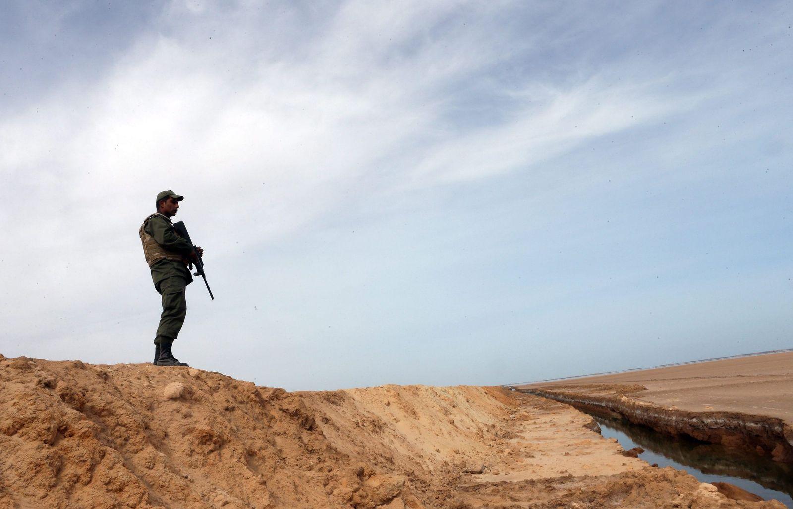 Ben Guerdane Tunesien Libyen Grenze