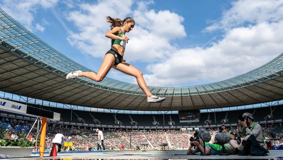 Persönliche Bestzeit verbessert, deutschen Rekord aufgestellt: Es läuft für Gesa Felicitas Krause (Archivbild)