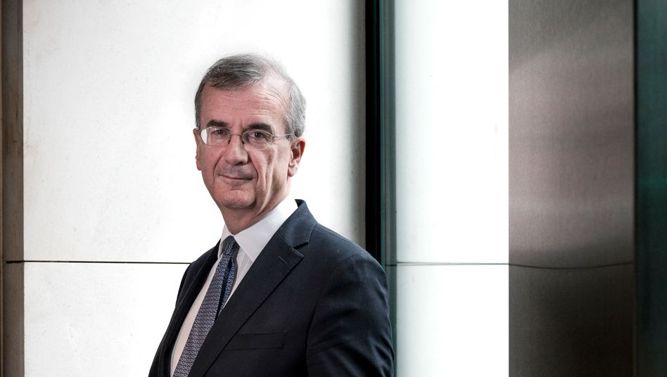 "Bank of France Governor François Villeroy de Galhau: ""Central banks have the capacity to act."""