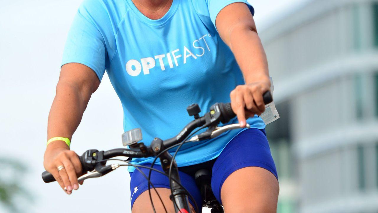Diät für Gewichtsverlust Radfahrer