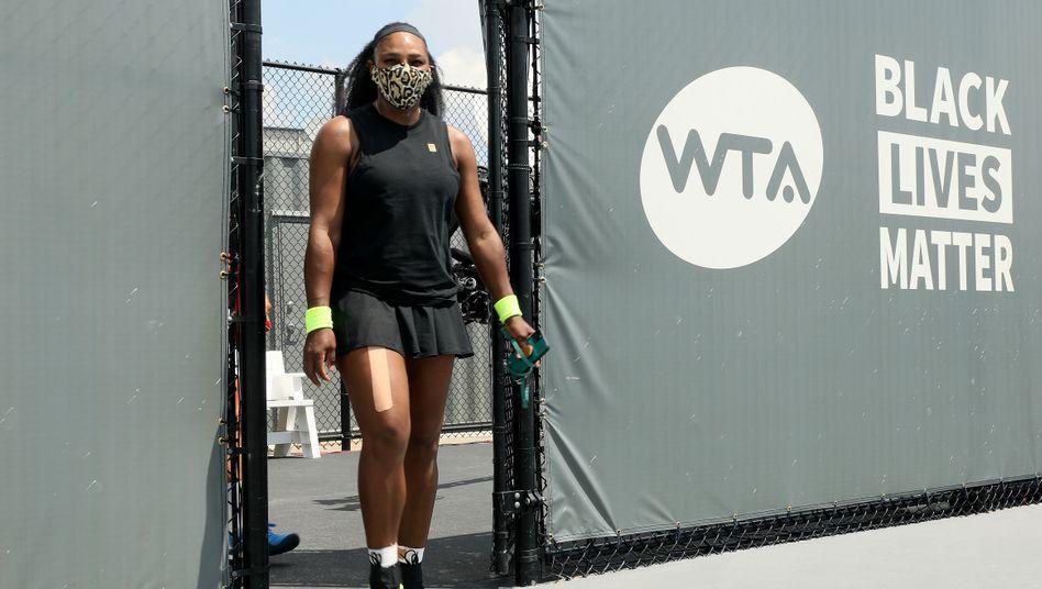 Serena Williamsund viele andere Profis wagen in New York den Neustart