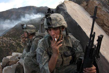 """US-Soldaten im Korengal-Tal: """"Zentrale Front im Kampf gegen Terrorismus"""""""