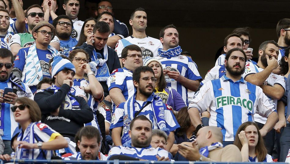 Fans von Deportivo La Coruña: Block der Riazor Blues wird geschlossen