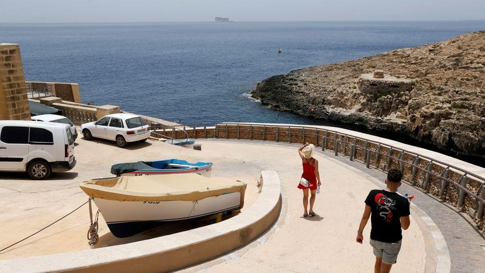 Touristen auf Malta