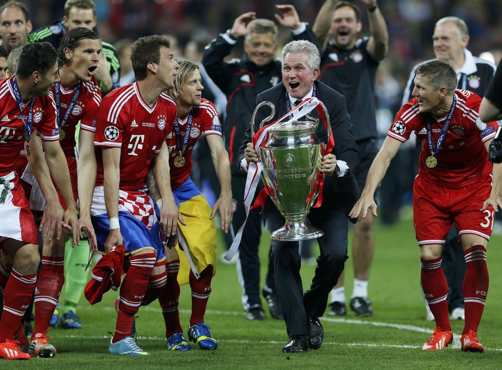 Champions League Finale 2013 / Nachher / Heynckes