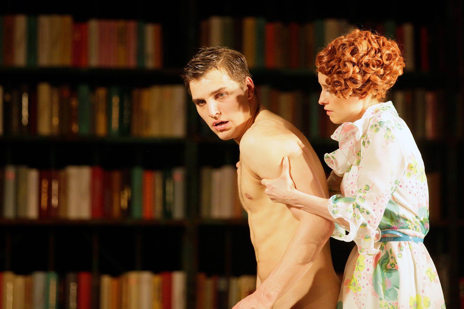 EINMALIGE VERWENDUNG Theater/ Ein Bericht an eine Akademie
