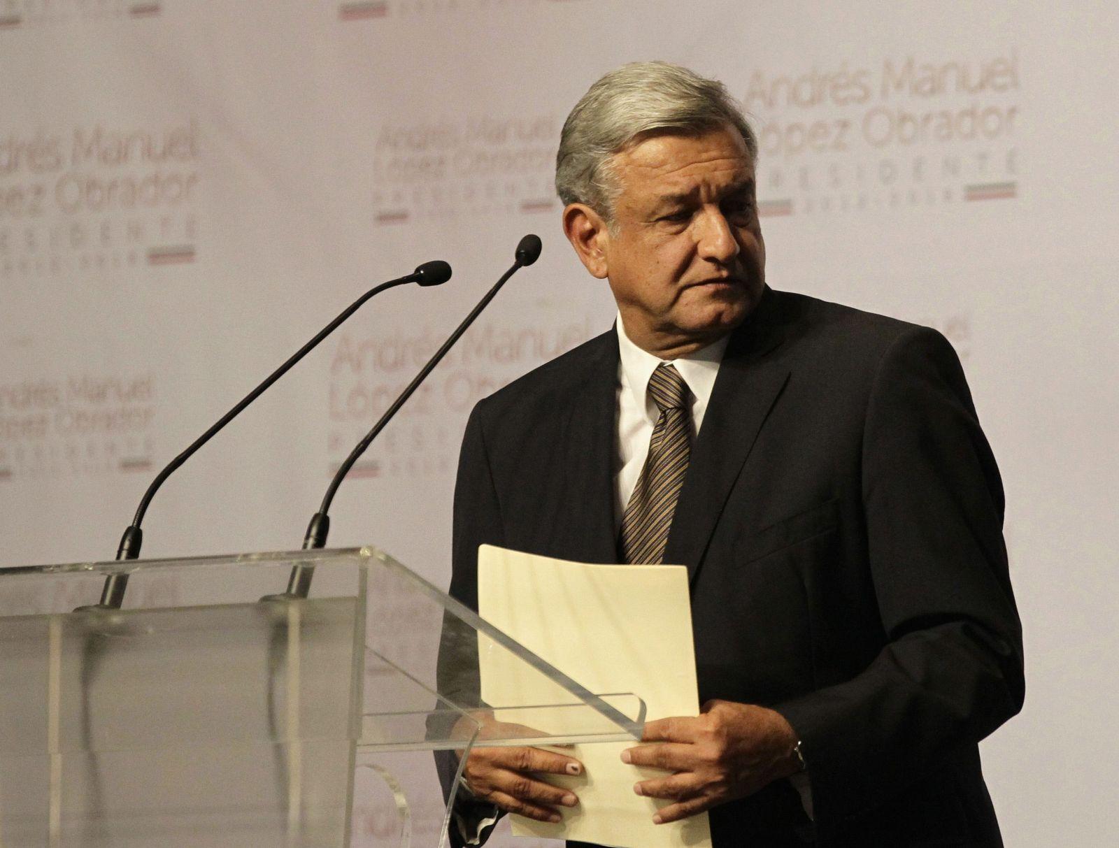 Mexiko Wahl Andres Manuel Lopez Obrador