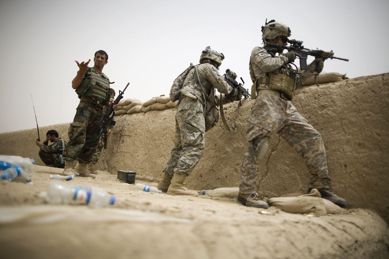 Afghanistan / US-Soldaten