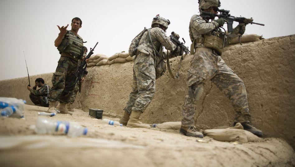US-Soldaten in Afghanistan: Warten auf die Heimkehr
