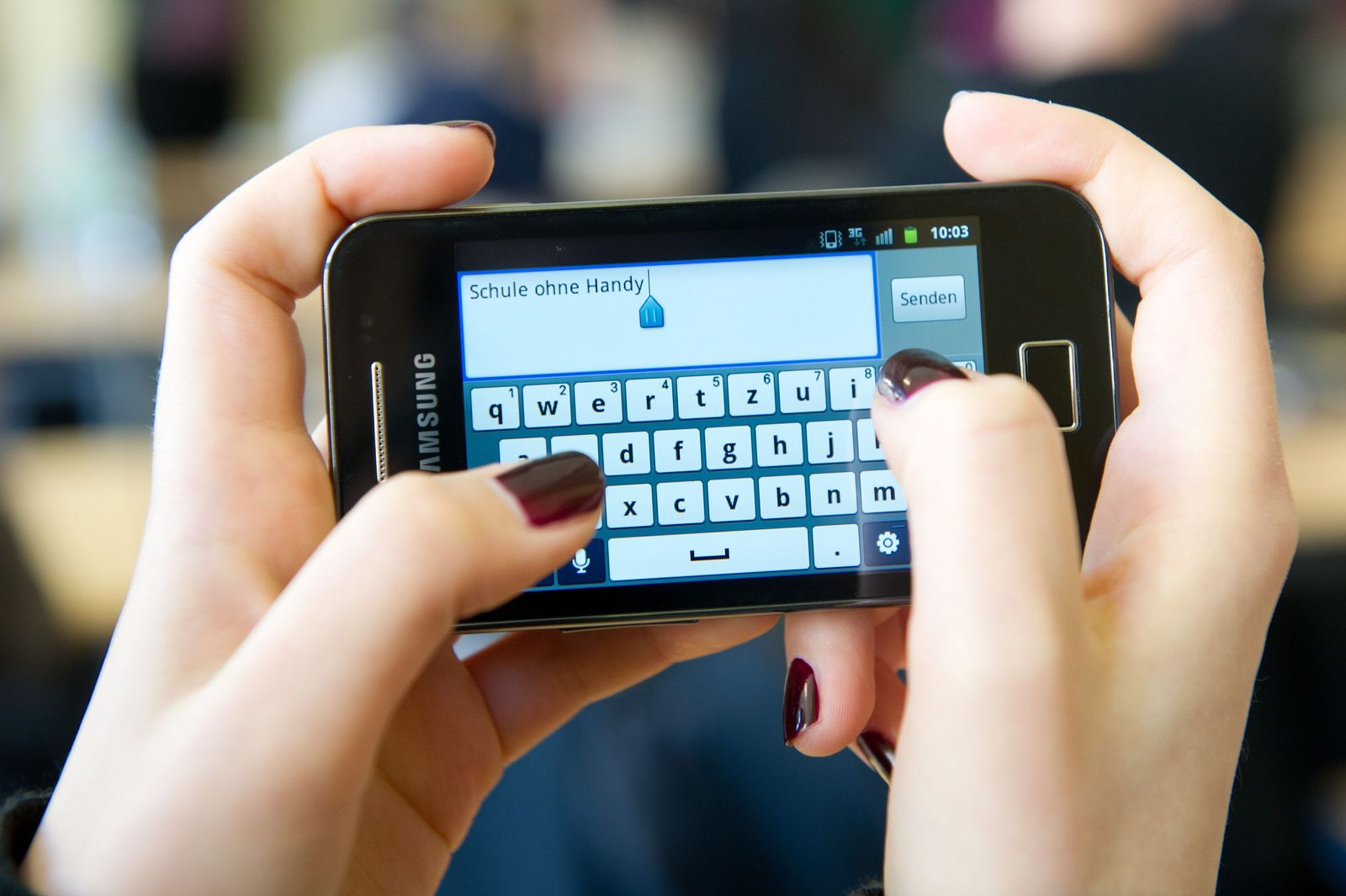 Handys anSchulen