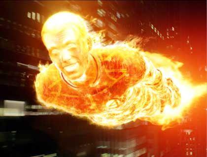"""Szene aus """"Fantastic Four"""" (mit Chris Evans): Folgenschwere Transformation"""