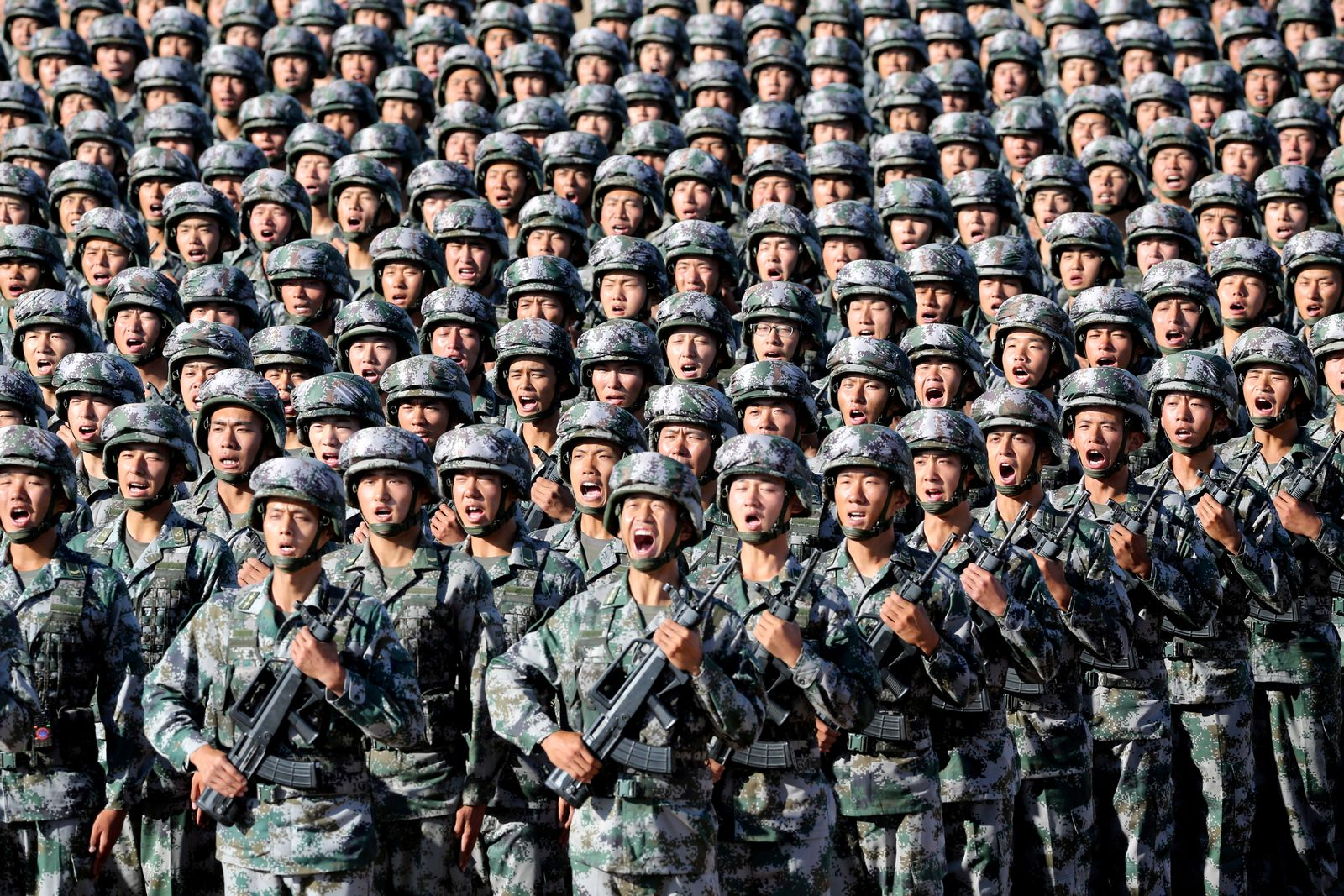 China / Soldaten