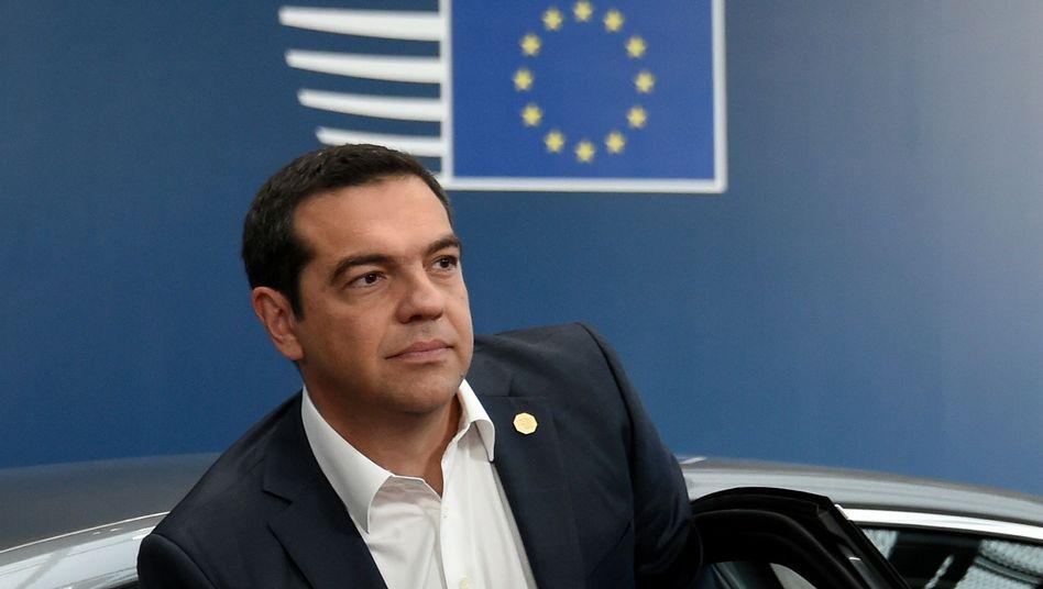 Der griechische Ministerpräsident Alexis Tsipras fordert Reparationszahlungen
