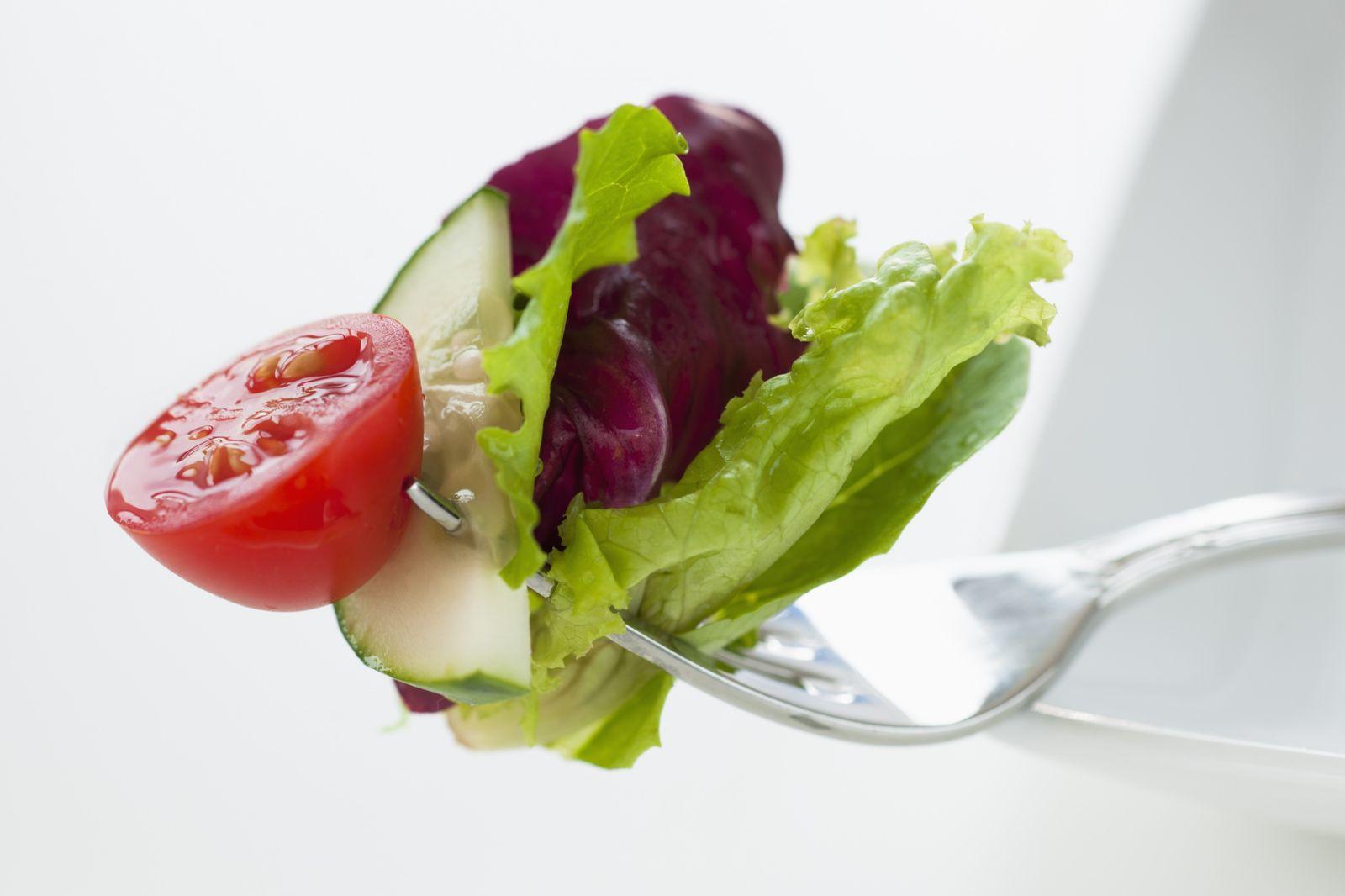 NICHT MEHR VERWENDEN! - Salat / Tomate / Gabel