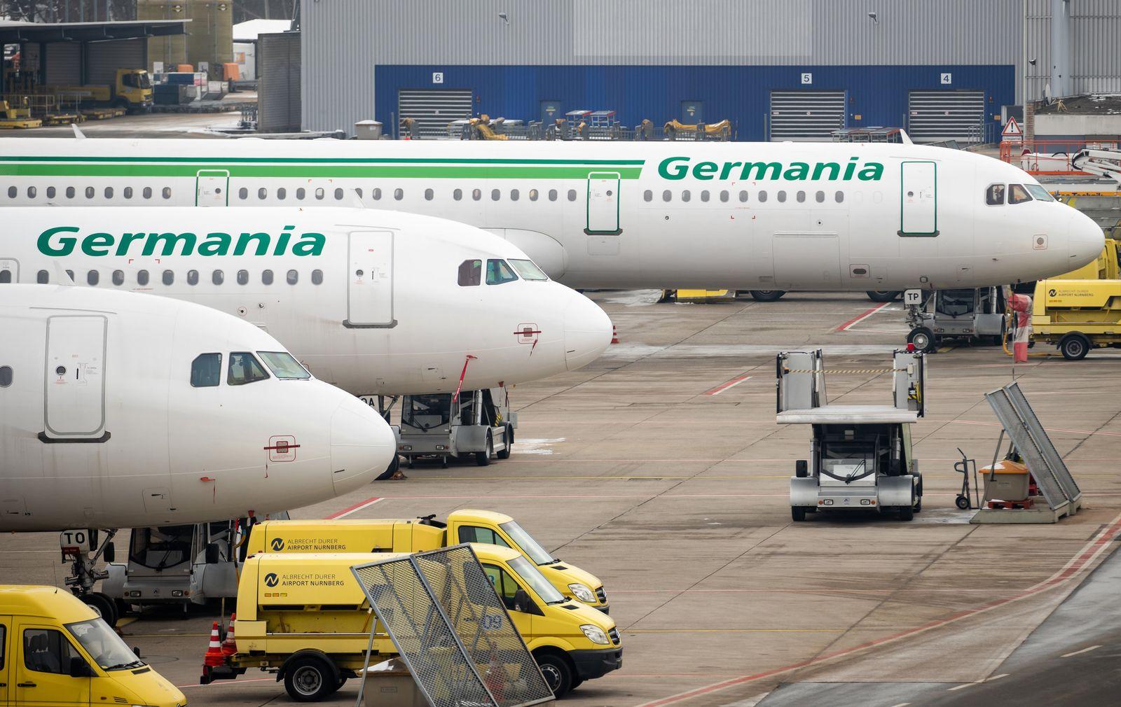 Germania/ Insolvenz