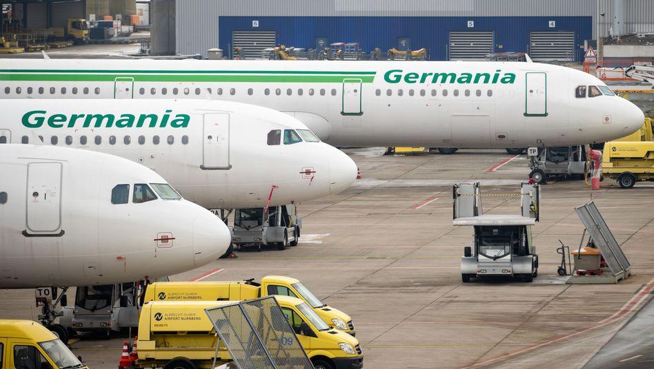 Germania-Flugzeuge
