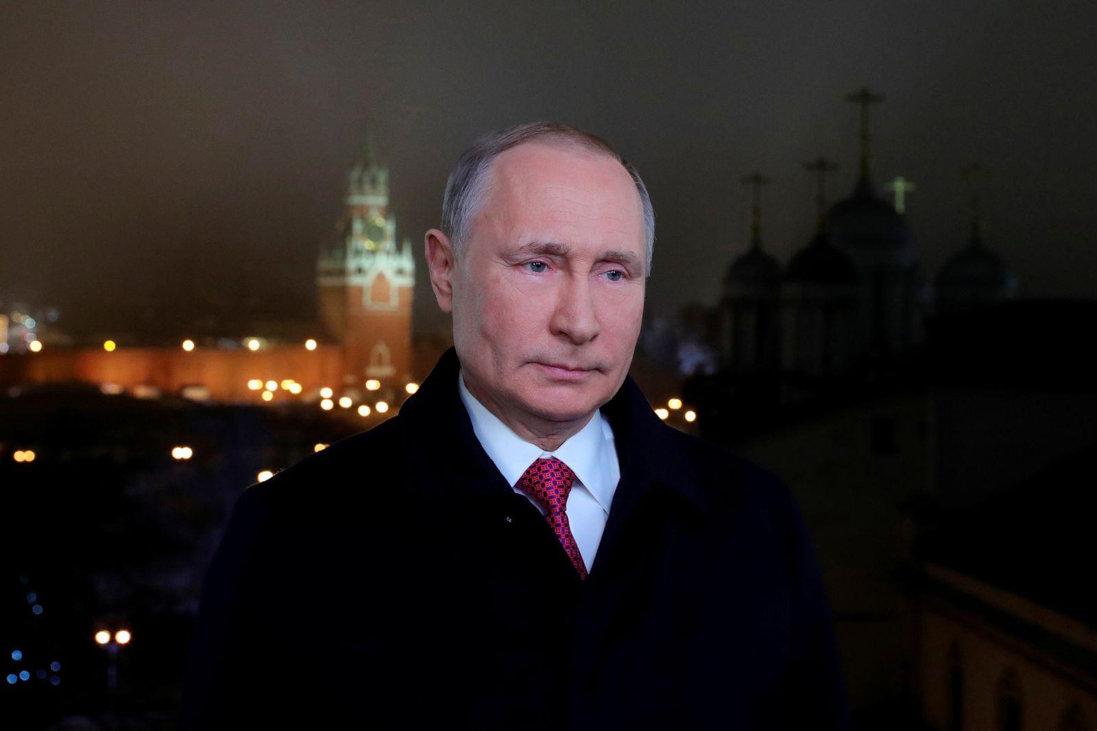 NEW-YEAR/RUSSIA-PUTIN ADDRESS