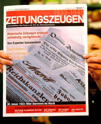 """""""Zeitungszeugen"""": Nazi-Presse im Original"""